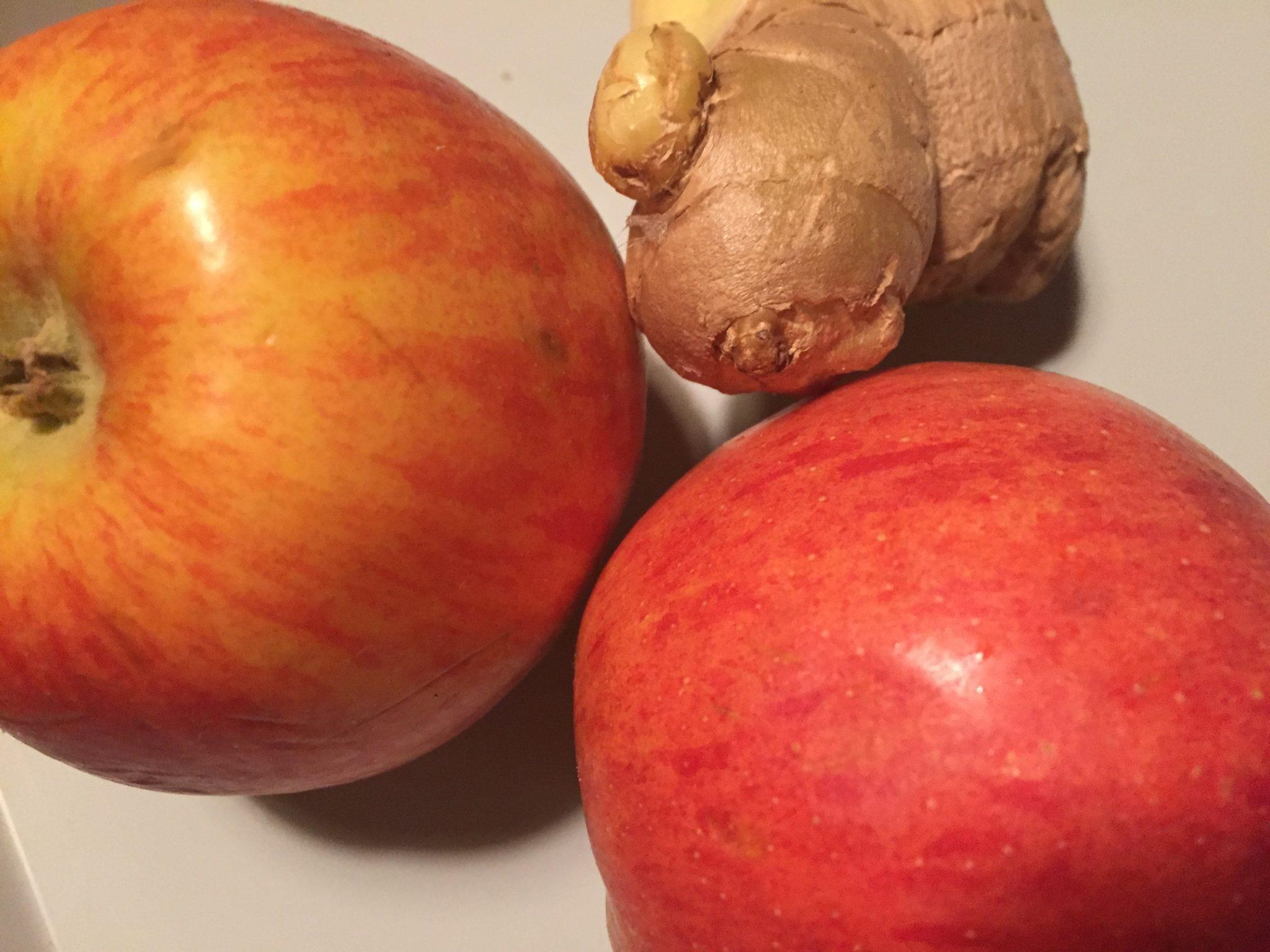 Ingwer Apfel