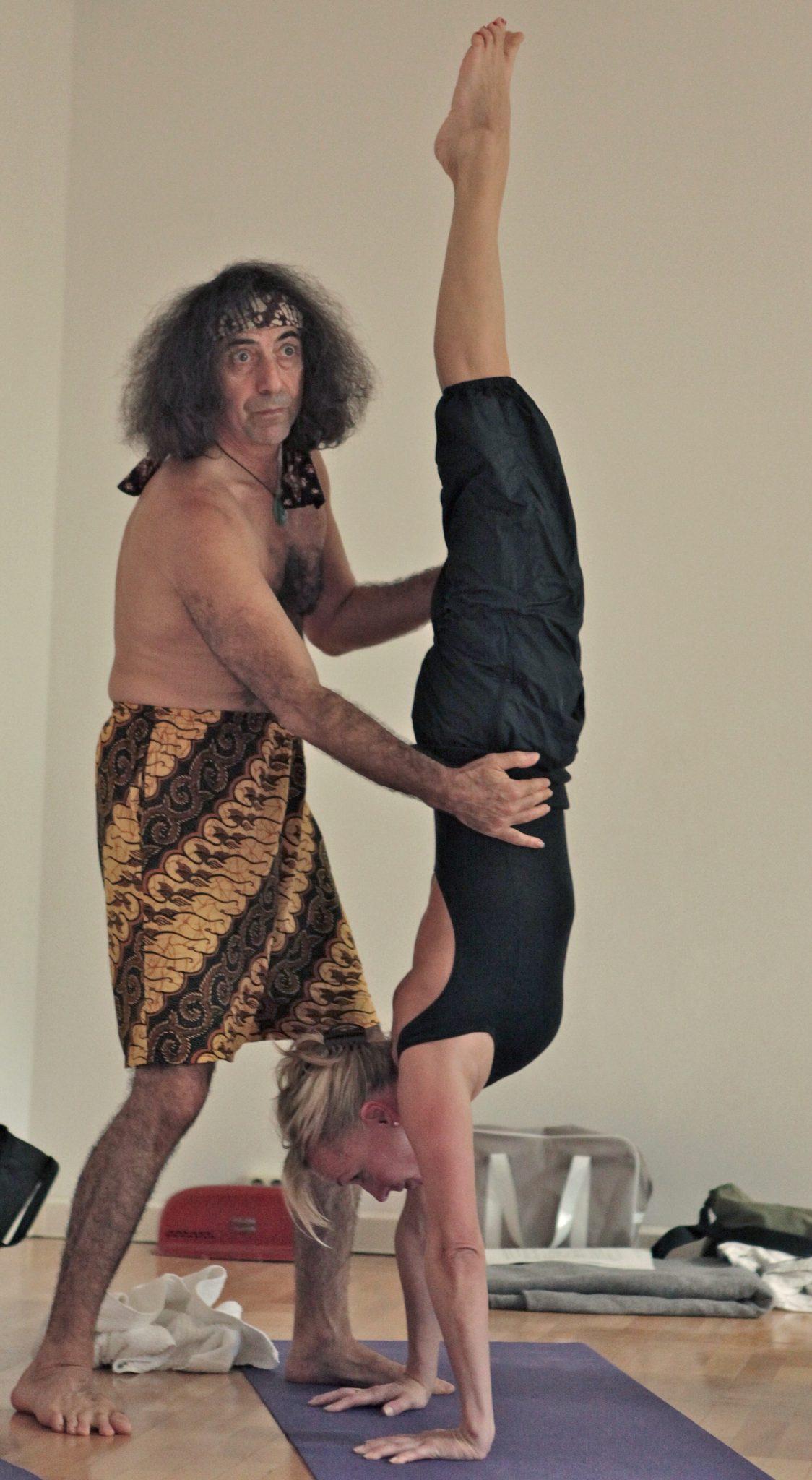 Handstand Assist Danny Paradise