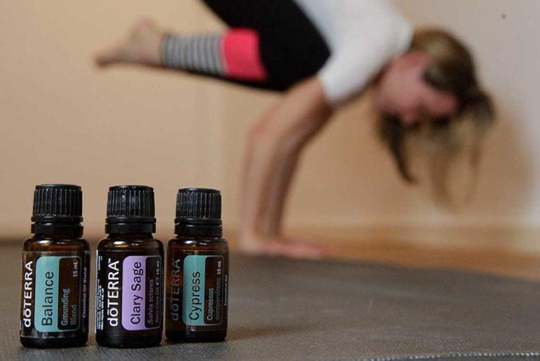 Ätherische Öle doTERRA und Yoga