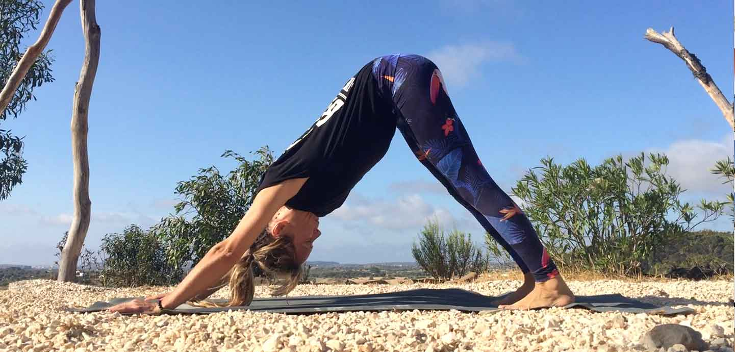 regelmäßige Yogapraxis