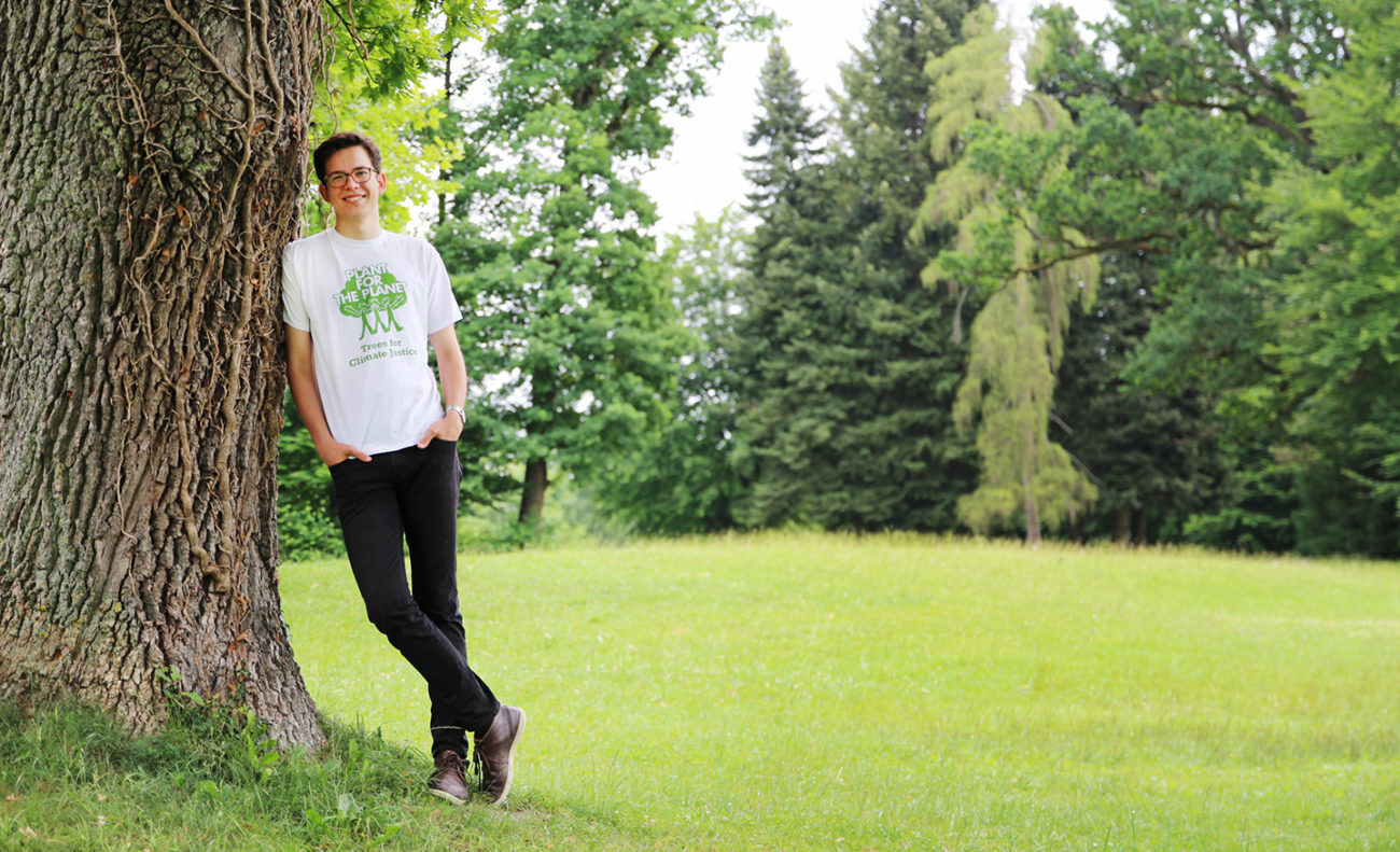 Felix Finkbeiner plant for the planet